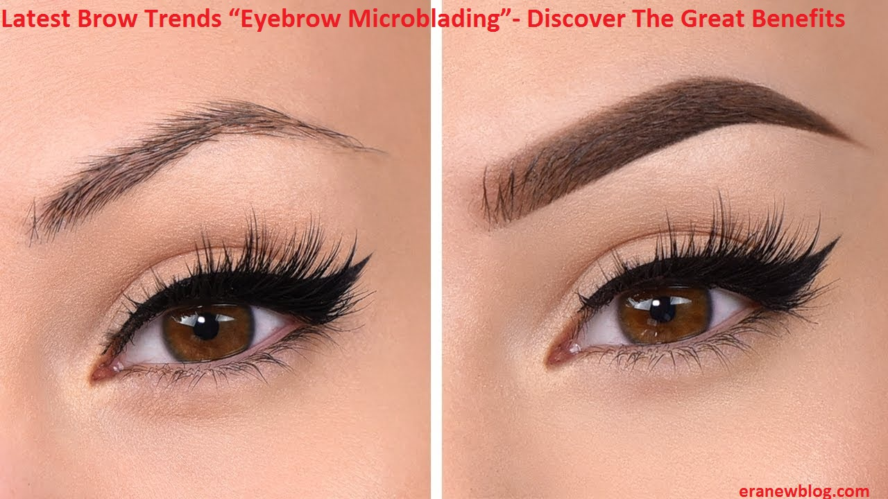 Latest Brow Trends