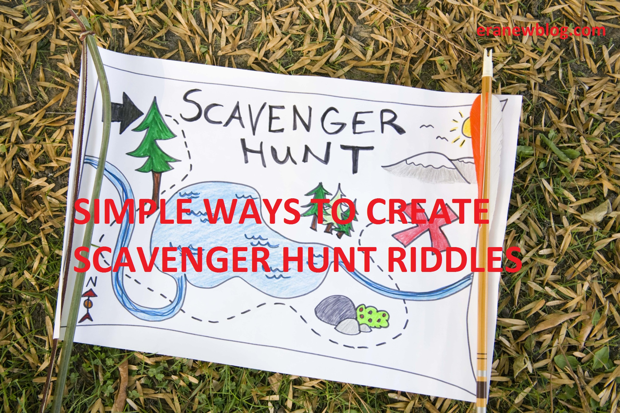 SIMPLE WAYS TO CREATE SCAVENGER HUNT RIDDLES