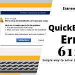 How to Fix QuickBooks Error 6123 0